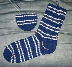 H's Socks in Progress