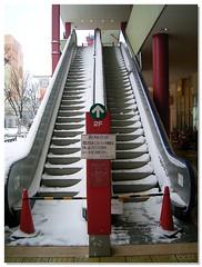 Snow slide!?