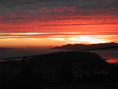 Sunset from my house - 1/29/06