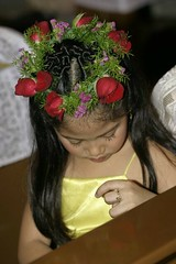 headdress flower girl