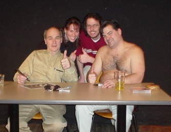 Nikki and I with Randy and Lahey