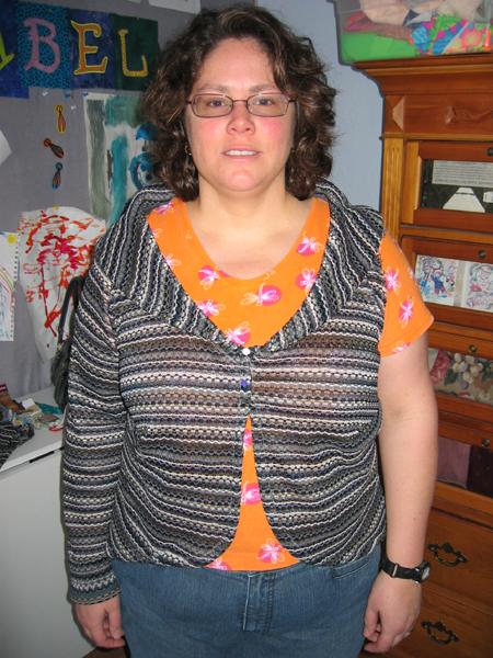 Burda Knit Sweater 8121 Pattern Review By Neefer