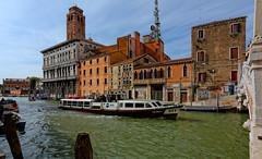 Venice : Palazzo Labia dal Ponte delle Guglie.- 2/2 photo by Pantchoa