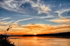Coucher de soleil sur le bord du Saguenay 06/09/2014 no1 photo by gaudreaultnormand