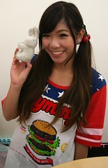 Beauty Boosts Bunny Over Burger photo by shiroibasketshoes hopper