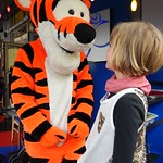 The Tigger met the leopard<br/>28 May 2014