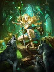 La Druide et sa meute
