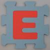 Foam Play Mat Letter E