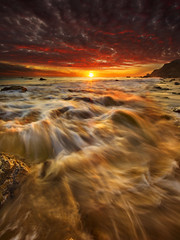 Beach Sunset Vertical Version photo by Michael Lawenko dela Paz