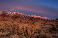 Alabama Hills Sunrise photo by Jeffrey Sullivan