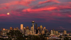 The Many Faces Of a Seattle Sunset #2 photo by howardignatius