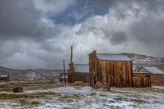 Snow in Bodie This Week photo by Jeffrey Sullivan