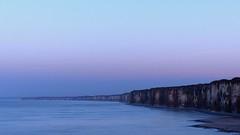 Lonely in a blue purple sunset photo by KerKaya