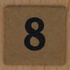 TSL Lotto Bingo Number 8