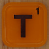 WORDS with friends letter T
