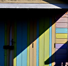 beach hut colours...