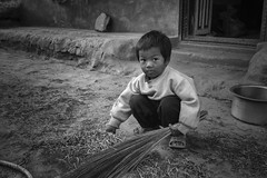 Nepalese Boy photo by fredMin