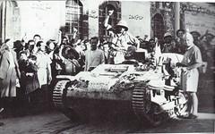1941- Syrie -Entrée de la  13 DBLE dans Damas - Source AFL