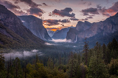 Yosemite Tunnel View Sunrise photo by Jeffrey Sullivan