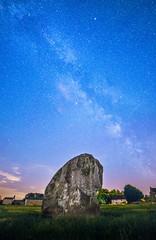 Milky Way over Avebury photo by Matt Bigwood