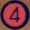 Colour Bingo pink number 4