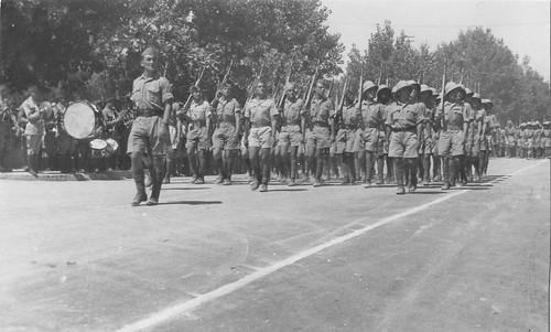 1941 - Les troupes FFL entrent dans Oms ou Alpe- Col. Suzanne Davreux