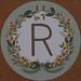 Garland Letter R