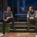 Jeff Parker (Francois) and Stephen Schellhardt (Edmund) in DAYS LIKE TODAY at Writers Theatre. Photo by Michael Brosilow.