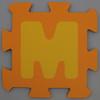 Foam Play Mat Letter M
