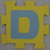 Foam Play Mat Letter D