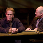 Philip Earl Johnson and Tom McElroy in OLD GLORY at Writers Theatre. Photo by Michael Brosilow.