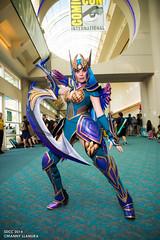 San Diego Comic Con 2014 Diana Kamui Cosplay photo by Manny Llanura