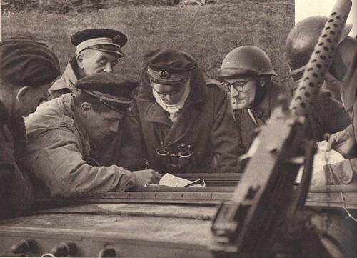 1944 - Vosges- Valdoie- Fusiliers marins et commandos -Source : éditions GP - Du Tchad au Danube