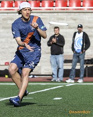 AUDL: Montreal Royal vs Rochester Dragons.  Ultimate Frisbee at Percival Stadium photo by Danny VB