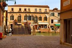 Venice : Ponte Loredan ( agli Morosini )  / Rio Tera Farsetti / Fondamenta dei Ormesini     2/2 photo by Pantchoa
