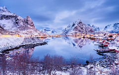 Arctic Mirror | Reine, Lofoten, Norway photo by v on life