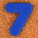 Joc creatiu dígit 7