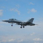 F18 coming into land<br/>19 Jul 2014