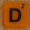 WORDS with friends letter D