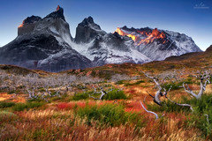 Horns of Cuernos del Paine photo by Ania.Photography - off