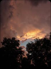 Stormy sunset July 8, 2014 photo by Carolannie---eyewitness