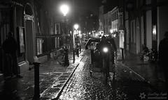 A street of Dublin at night photo by David Ortega Baglietto