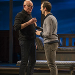 Jonathan Weir (Frank) and Stephen Schellhardt (Edmund) in DAYS LIKE TODAY at Writers Theatre. Photo by Michael Brosilow.