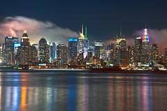 Foggy Night Over NYC [EXPLORE] photo by Moniza*