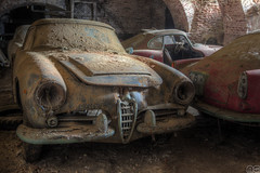 the Grave of the Anonima Lombarda Fabbrica Automobili photo by MGness_