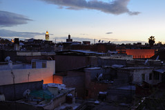 over the roofs of Marrakech photo by marin.tomic