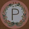 Garland Letter P