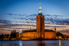 Stockholm City Hall During Twillight photo by Patberg