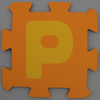 Foam Play Mat Letter P