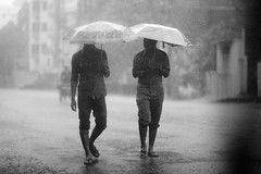Rainy day conversations photo by N A Y E E M